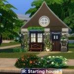 IR: Стартовый домик 1 для The Sims 4