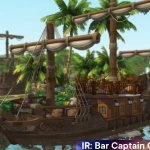 """IR: Плавучий бар """"Капитан Кук"""" для The Sims 4"""