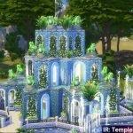 IR: Храм Дождя для The Sims 4