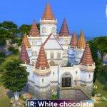 """IR: Замок """"Белый Шоколад"""" для The Sims 4"""