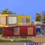 IR: Стартовый домик 4 для The Sims 4 (контейнерный)