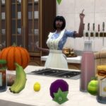Добываем ингредиенты для кулинарных рецептов  Sims 4