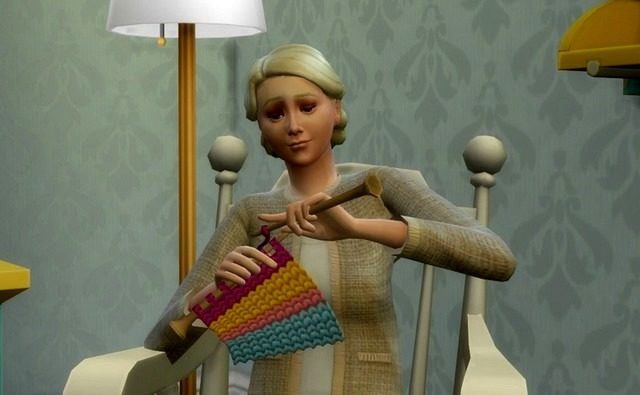 """Вязание, вязание в симс 4, Навык """"Вязание"""" в The Sims 4 - подробный обзор, Навык """"Вязание"""", The Sims 4 подробный обзор навыка вязпния, как вязпть в симс 4, каталог """"Нарядные нитки"""", как начать вязпть в симс 4, вязание, рукоделие в симс 4, кресло-качалка в симс 4, умения в симс 4,"""