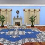 Ковровое покрытие для пола из официальной игры The Sims 4